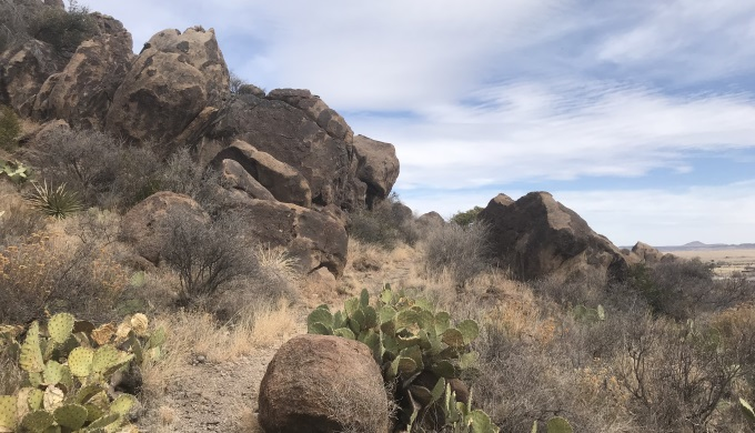 Davis Mountains Trail from Fort Davis NHP