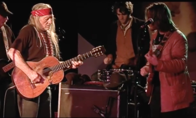 Willie and Lukas Nelson