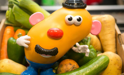 Wonky Mr Potato Head