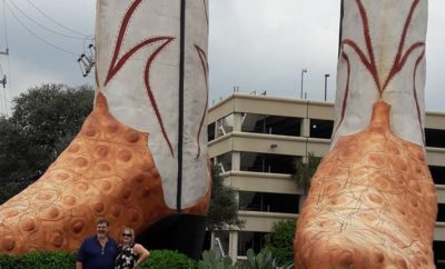 World's largest cowboy boots, San Antonio