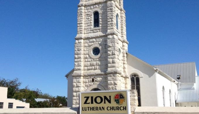 Picturesque Churches Zion Lutheran Church Fredericksburg
