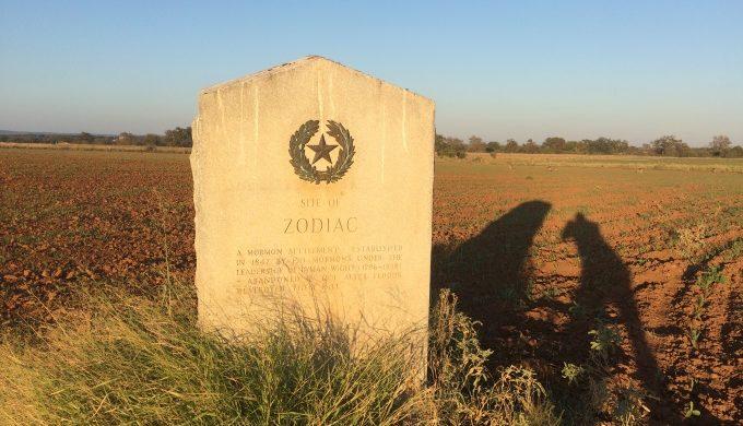 Zodiac Historical Marker