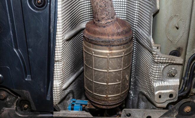 Kerrville Police Report Thefts of Catalytic Converters
