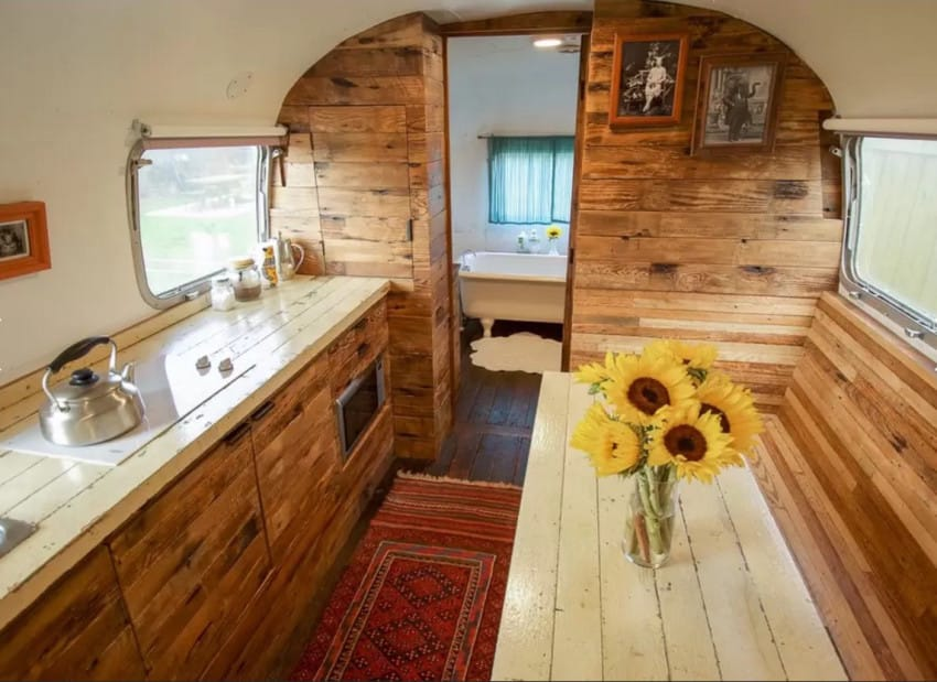 this 1979 airstream trailer will inspire serious nostalgia. Black Bedroom Furniture Sets. Home Design Ideas