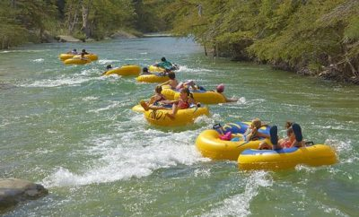Andy's tubes on the Frio
