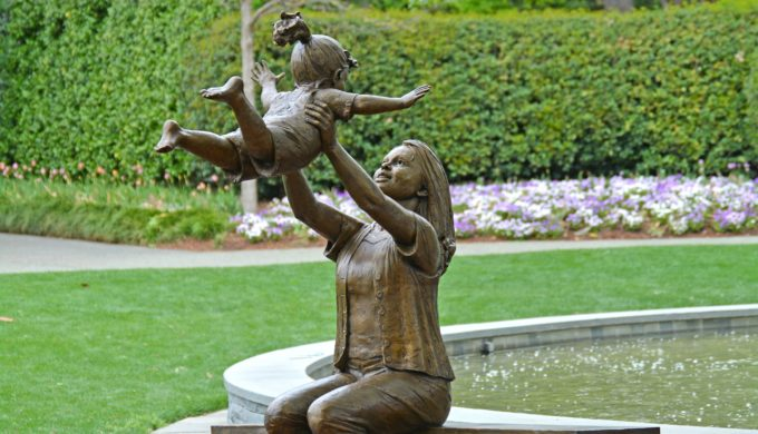 Celebrate the Children at the Dallas Arboretum with Stunning Artwork