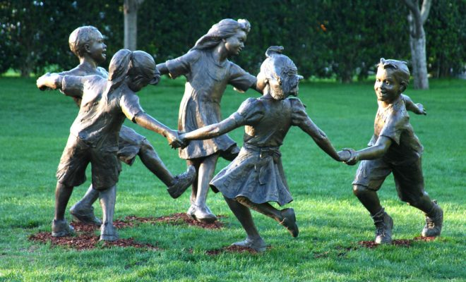 Celebrate the Children at the Dallas Arboretum with Stunning Artwork