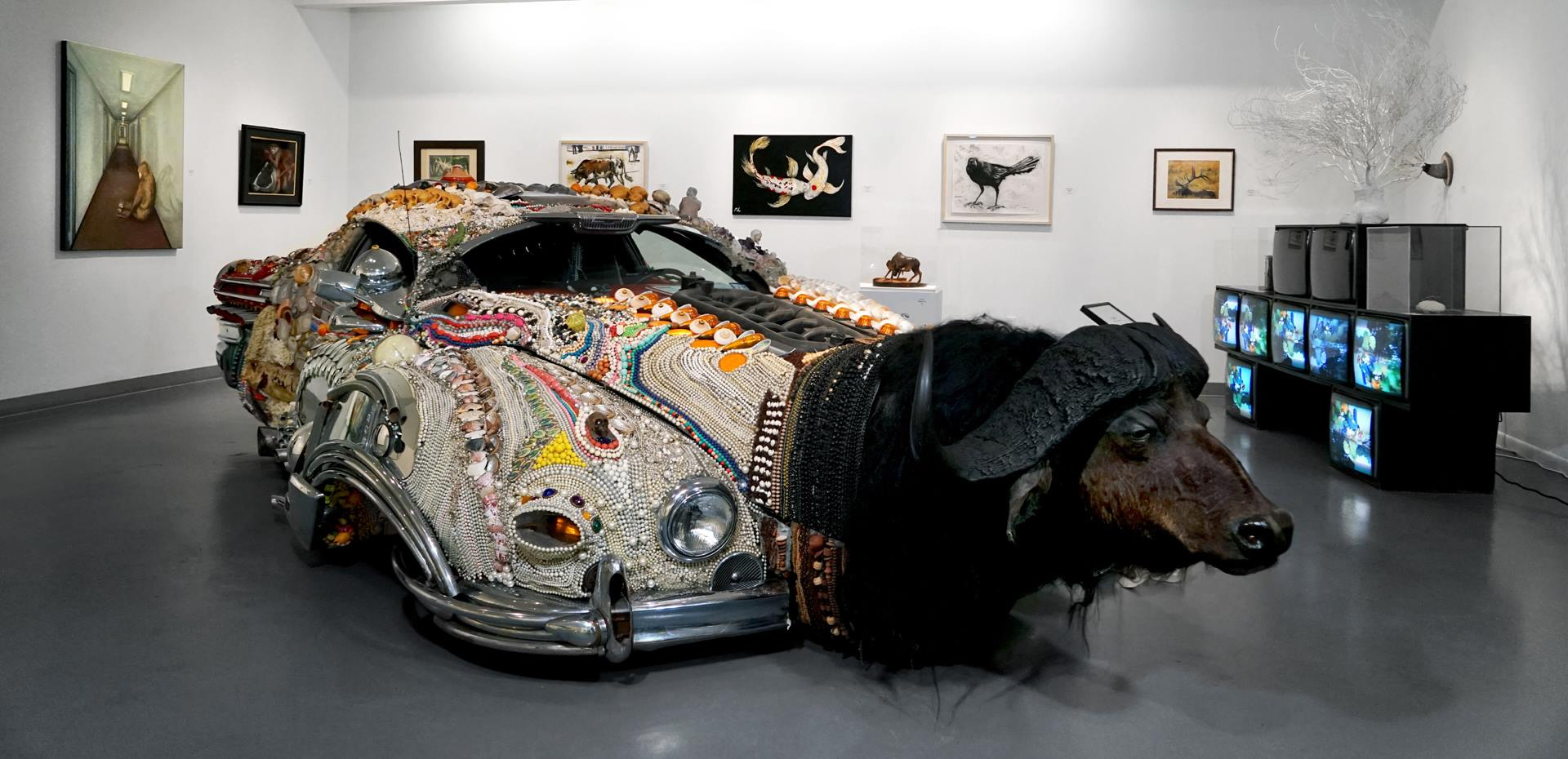 Art Car Museum >> Houston S Art Car Museum Transforms Cars Into Mind Boggling Art