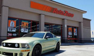 Auto Zone robbery