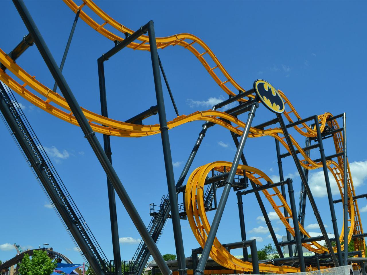 Batman The Ride - Six Flags Fiesta Texas (San Antonio ...