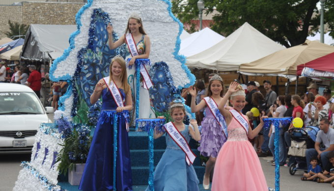 Burnet Bluebonnet pageant