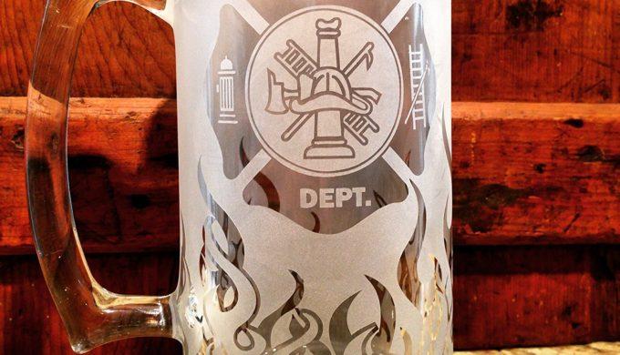 Maltese Cross Beer Stein