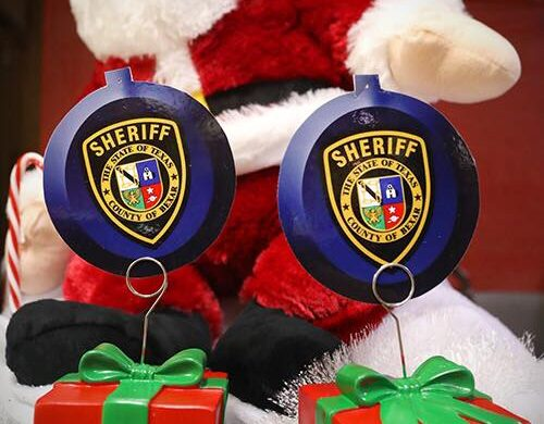 Bexar County Sheriff's Department Santa Toy