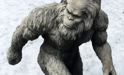 Davy Crockett's Mysterious Encounter with Bigfoot in Texas
