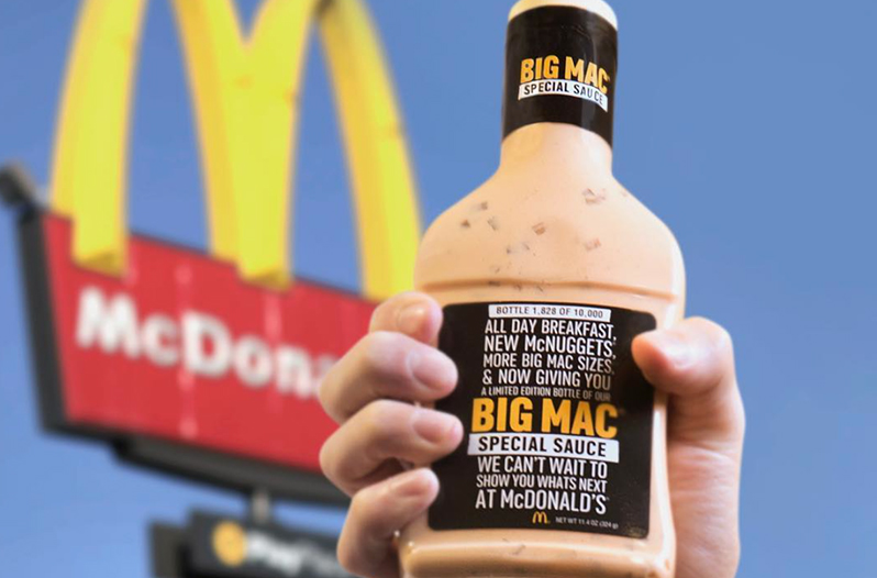 McDonald's Gives Away Bottles of Big Mac Special Sauce