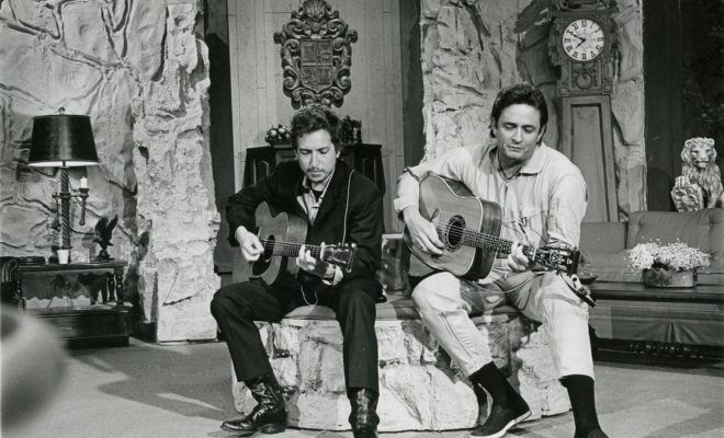 Watch Video of Previously Unreleased Dylan & Cash Recording Session