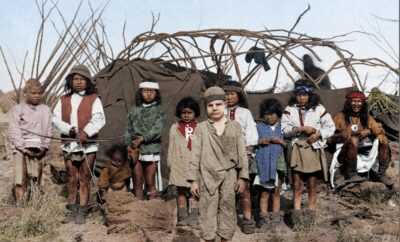 New Historical Novel of the Last Free Apaches and Captives in the 1920s