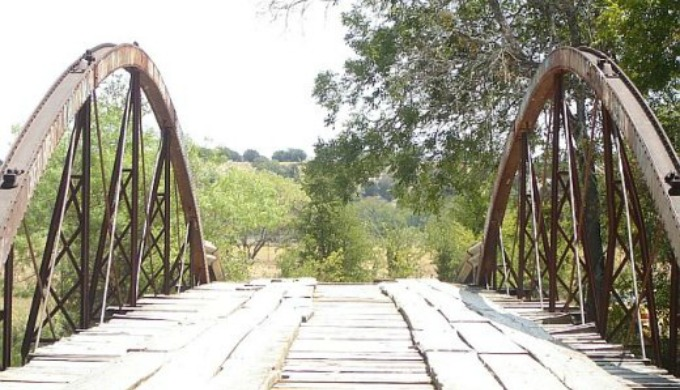 bullman bridge, hill country, hamilton, texas