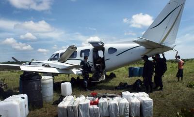 drug cartel plane