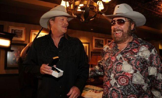 Alan Jackson Surprises Crowd With Hank Jr. Duet