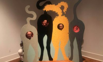 Will You Take a Cat Butt Selfie at Galveston Arts Center?