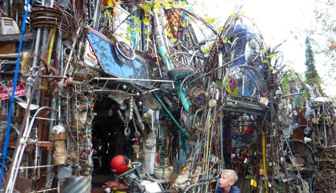 art, junk, gallery, unique, Austin, Texas Hill Country