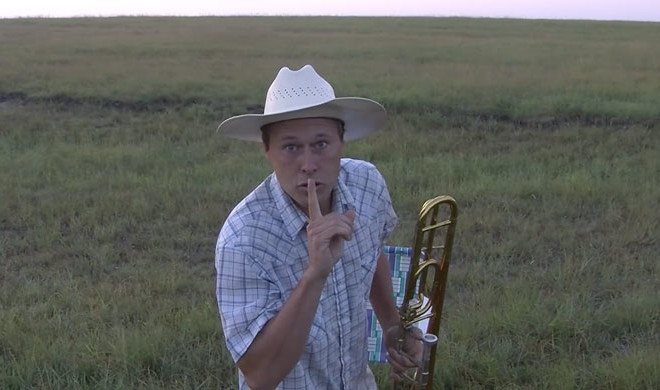 The Cattle Come Runnin' When He Brings A Trombone