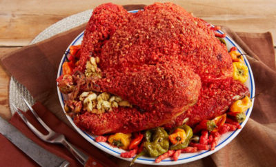 Reynolds Creates a Recipe: Flamin' Hot Cheetos Turkey?