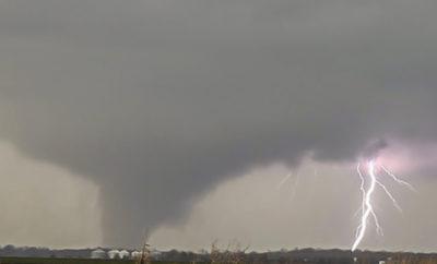 Texas Tornado Weingart hail