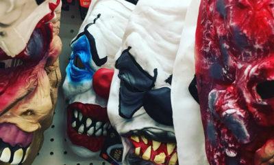 clown masks Target