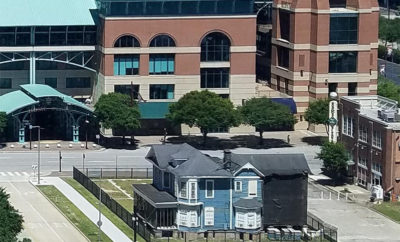 Ever Wondered What the Blue House Next to Minute Maid Park Is?