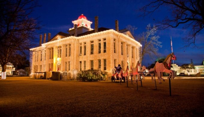 Is This the Twinkliest Town for Christmas in the Hill Country?