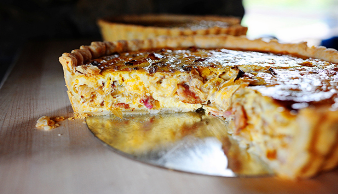 Hearty Cowboy Quiche, Breakfast of Texas Champions