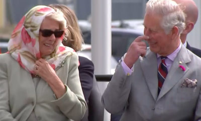 Prince Charles and Camilla Crack Up During a Inuit Singing Performance