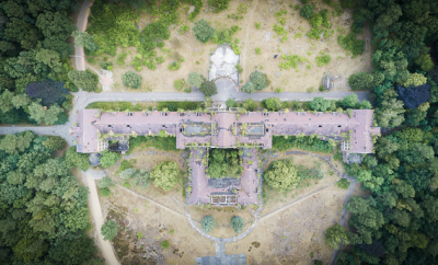 Beauty in the Forgotten: Drone Footage of an Abandoned School