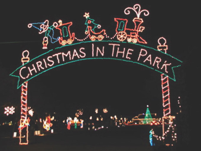 Christmas In The Park.Cuero Christmas In The Park 1 Texas Hill Country