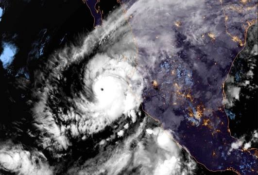 Hurricane Willa En Route to Western Mexico & Parts of South Texas