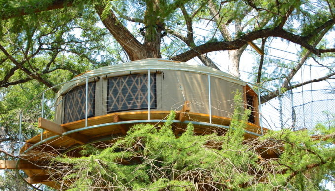 9 Whimsical Texas Tree Houses and Cabins