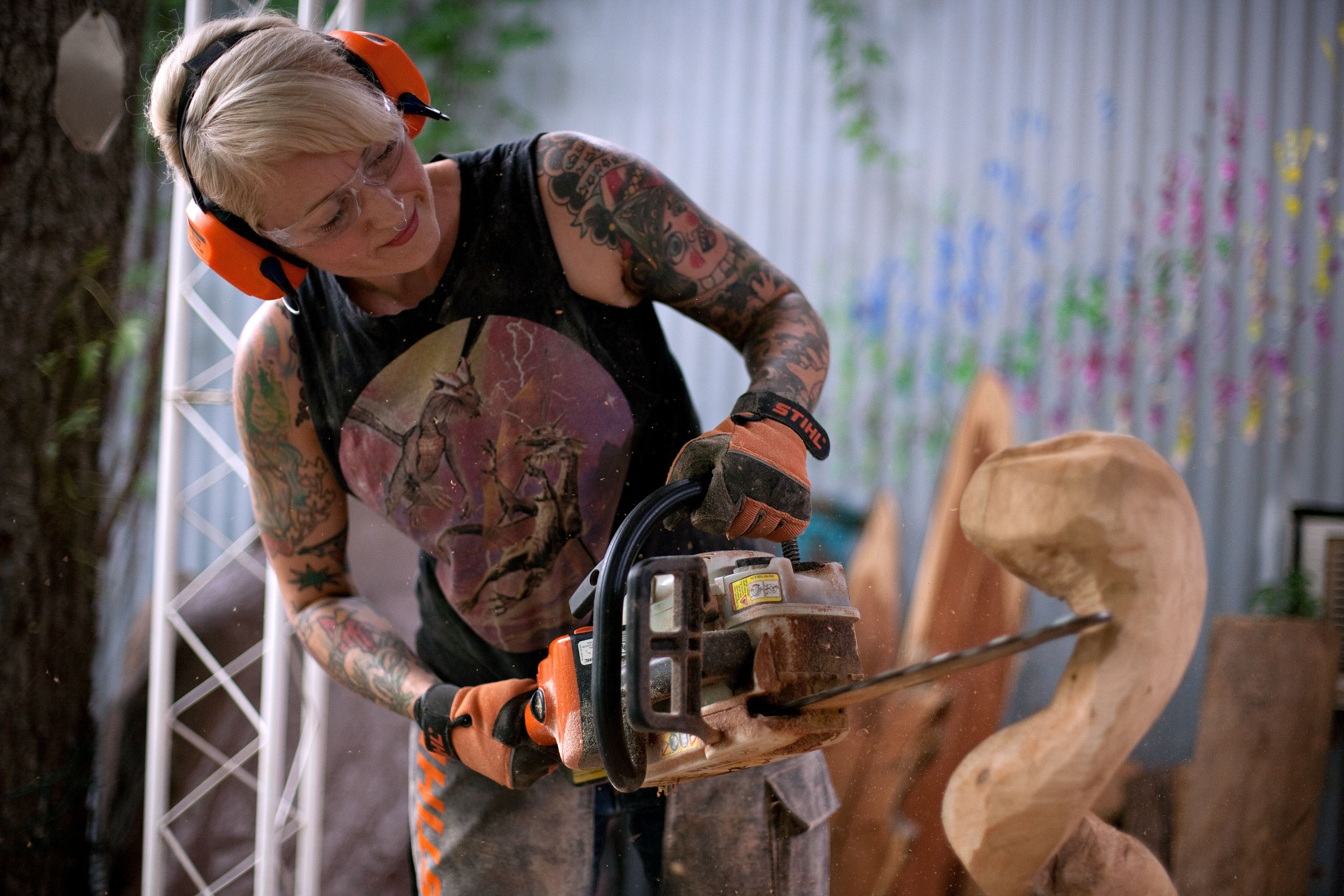 Texas Chainsaw Sculpture Masters