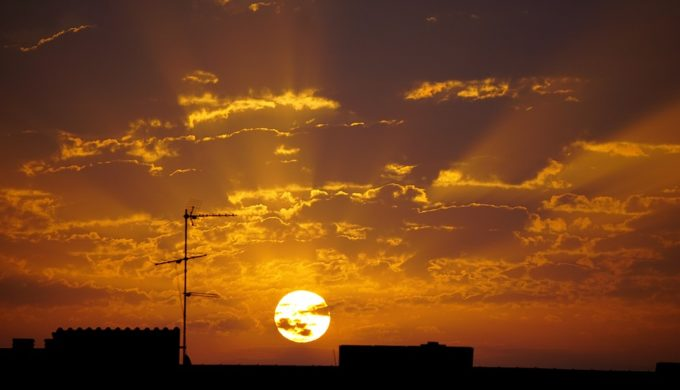 Under African Skies: Texas Saharan Dust Haze Results in Record Temperatures