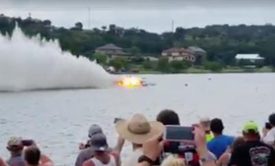 Drag Boat Pilot Seriously Injured at LakeFest in Marble Falls
