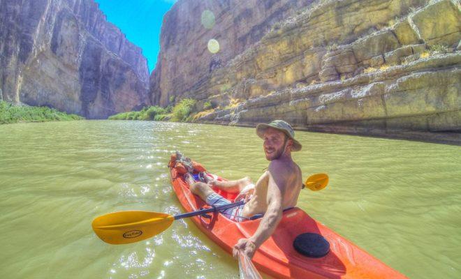 Kayak Santa Elena Canyon in Big Bend for Amazing Texas Beauty