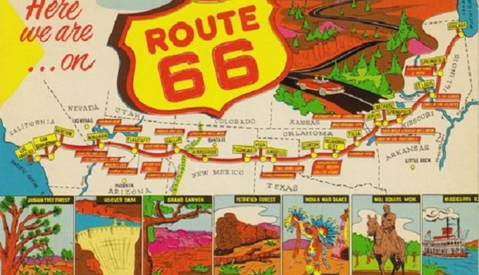 Take a Trip Back in Time on Route 66 in Amarillo Texas