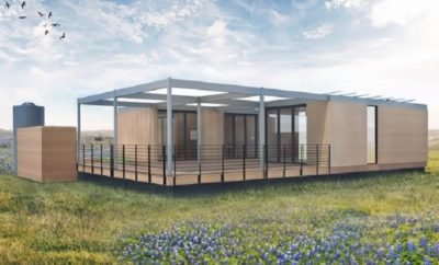 energy A Texas Modular Home Powered Only by Sunshine & Rainwater