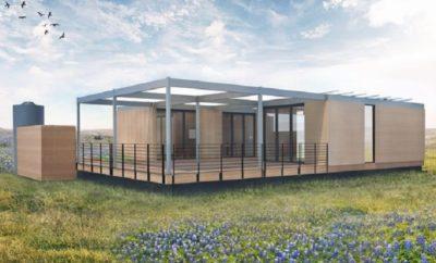 energy A Texas Modular Home Powered Only by Sunshine & Rainwater