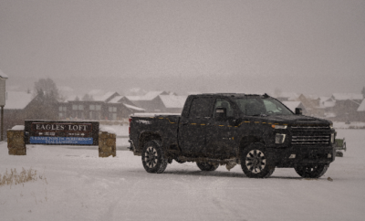 Carhartt Silverado: A Winter Road Trip in Carhartt & Chevy's Collaboration