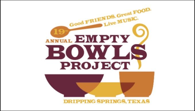 empty bowls project, fundraiser, Dripping Springs