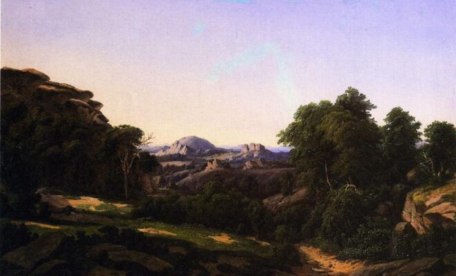 Hermann Lungkwitz, First Landscape Artist of the Texas Hill Country