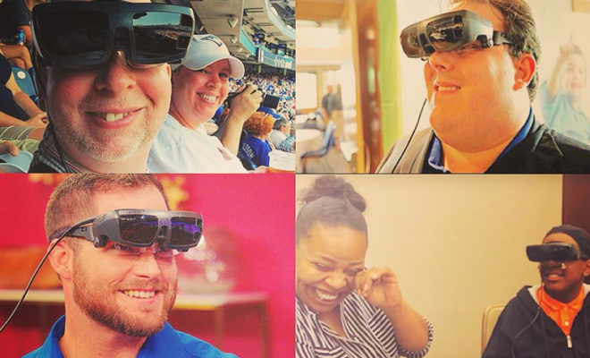 these glasses can help a blind person to see
