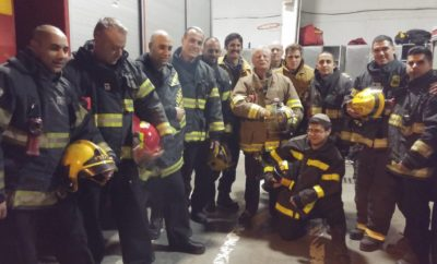 Emergency Volunteer Project firefighters
